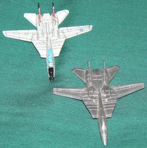 F-14 Tomcat Top Front